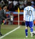 Maradona si Messi