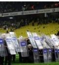 Politia pe teren a un meci din Turcia