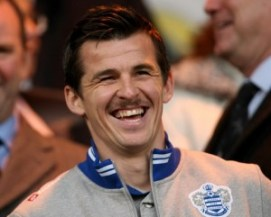 Queens Park Rangers' Joey Barton in the stands