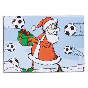 Santa Soccer