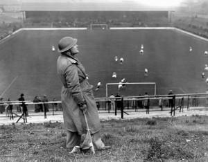 Mono Print Soccer - Charlton Athletic v Arsenal - The Valley