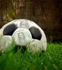 money-soccer-ball