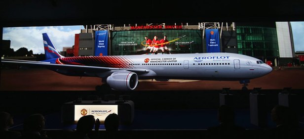 Manchester United Announce Aeroflot As New Club Partners