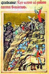 Batalia de la Posada ilustrata in Cronica pictata de la Viena