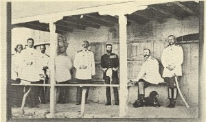 Marele Cartier General in frunte cu principele Carol