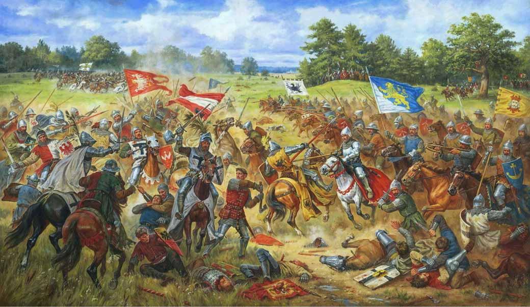 Valahia sub semnul crucii teutonice