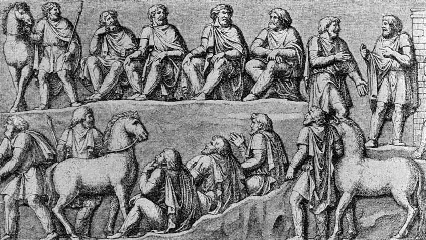 Sangiban, regele alanilor federați care nu i-a trădat pe romani