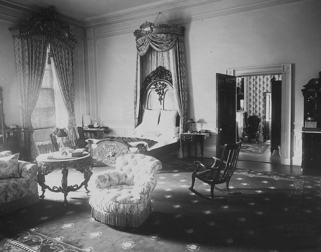 Dormitorul bântuit al lui Lincoln
