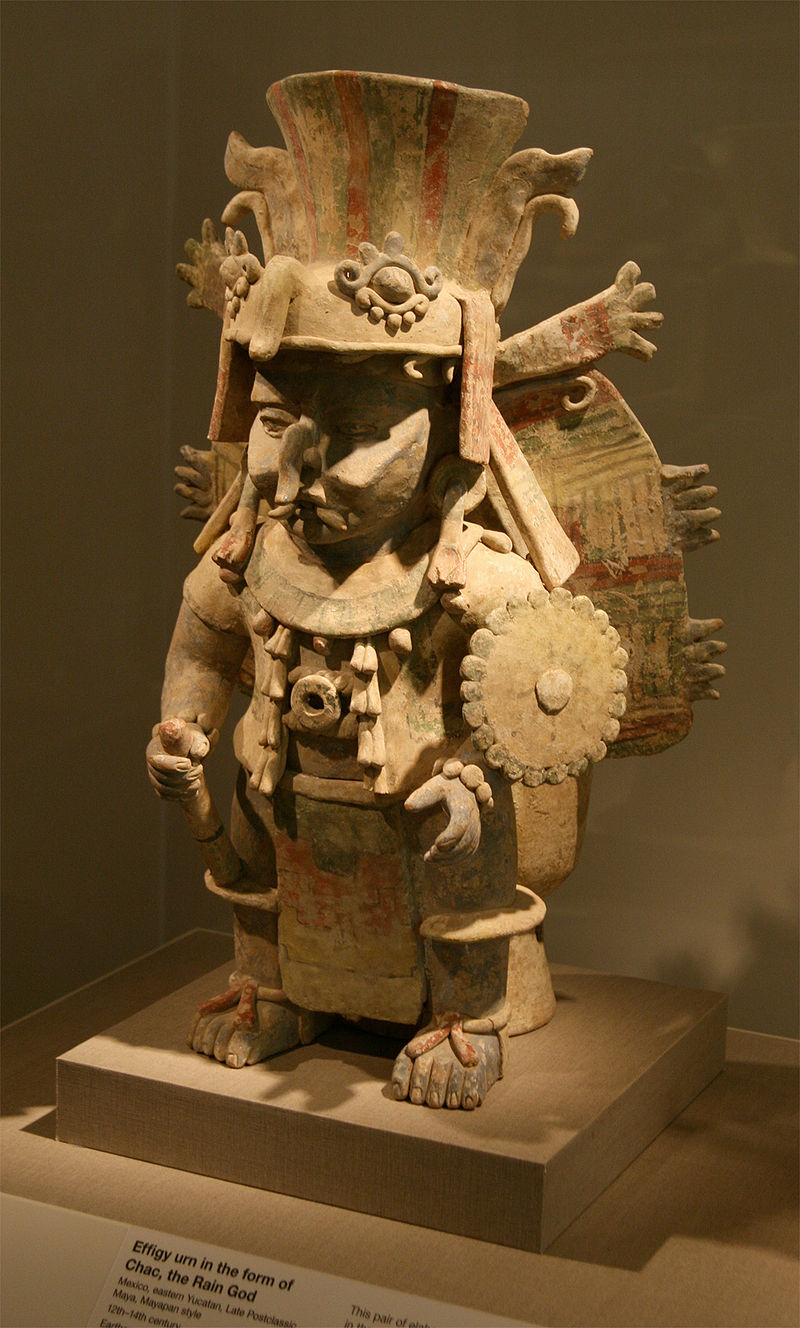 Zeul mayaș al ploii, Chac