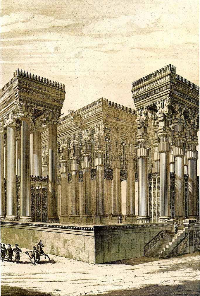 Apadana, camera tronului