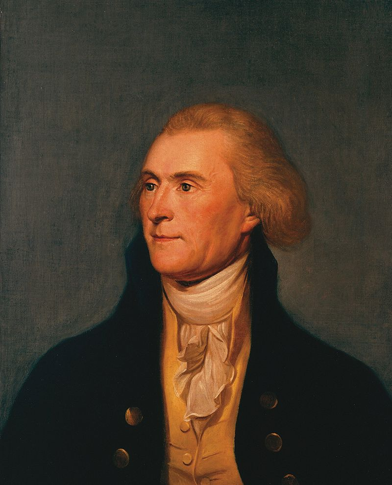 Thomas Jefferson despre a avea idei