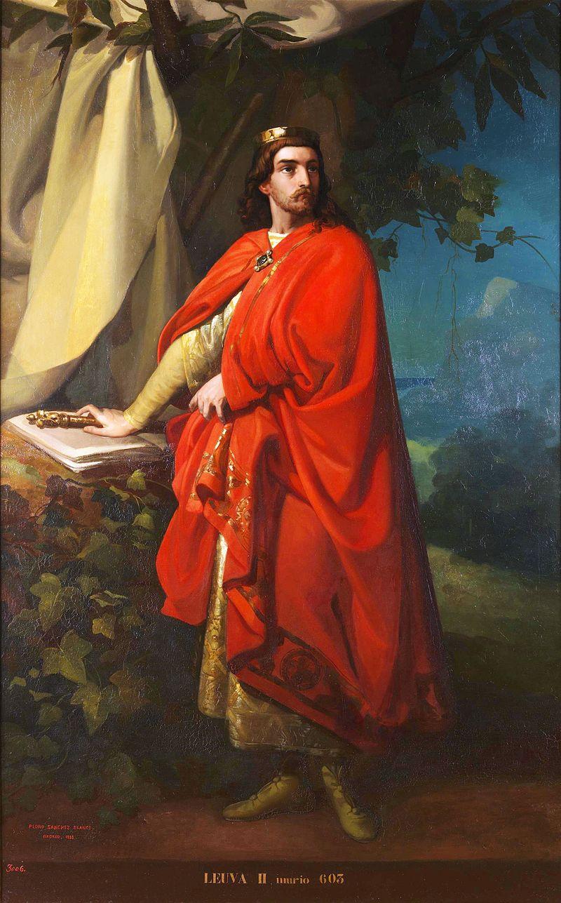Regele vizigot Liuva al II-lea