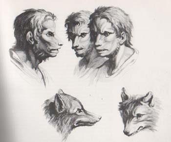 """Gizotso,""""omul-lup"""" sau vârcolacul în mitologia bască"""