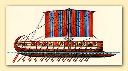 Финикийский военный корабль