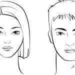 Drawing Shading Beautiful Male And Female Face Easy Steps Istudy