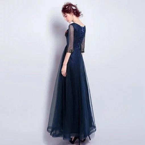 Blue Long Formal Evening Gown online - Cheap Prom Dress,Evening ...