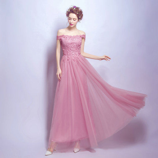 A Line Plus Size Prom Dress Evening Gown Cheap Prom Dressevening