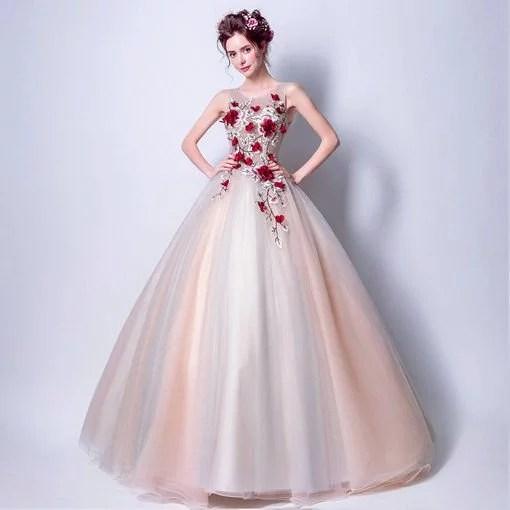 Quinceanera Dress Light Pink Bridal Dress - Cheap Prom Dress,Evening ...