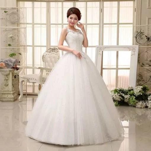 Strapless ball gown wedding dress wholesale cheap prom dress wedding dress under 100 338 04 junglespirit Gallery