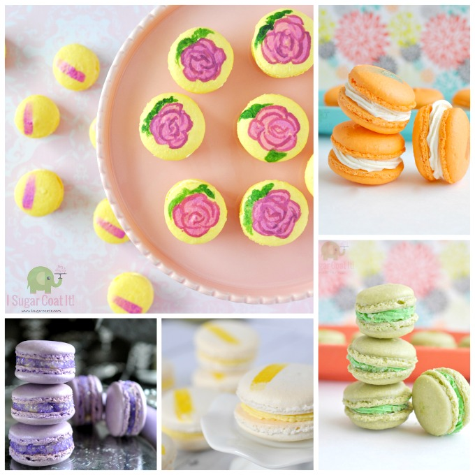 Macarons via I Sugar Coat It for Macaron Day