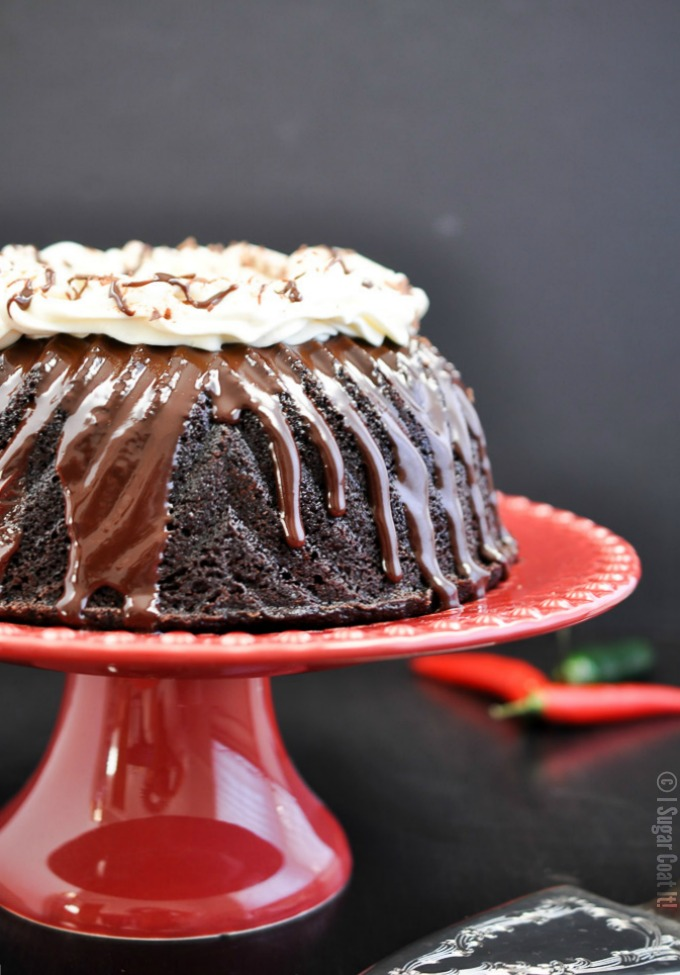 Aztec Hot Chocolate Bundt Cake Bundtbakers I Sugar Coat It
