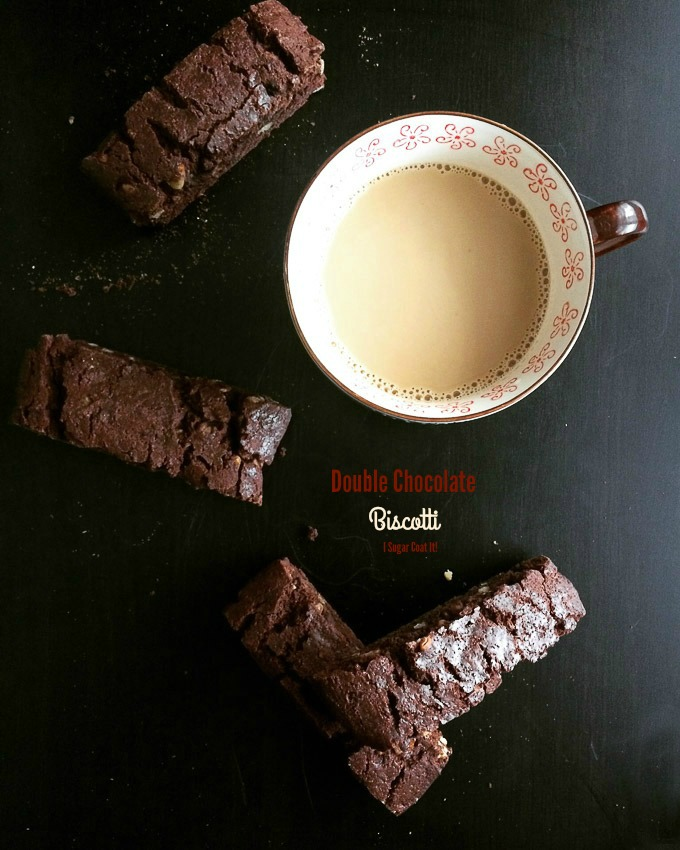 Double Chocolate Hazelnut Biscotti & Rodelle Giveaway!