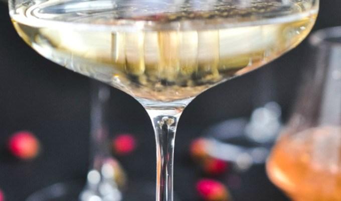 Molecular Rose Caviar Champagne