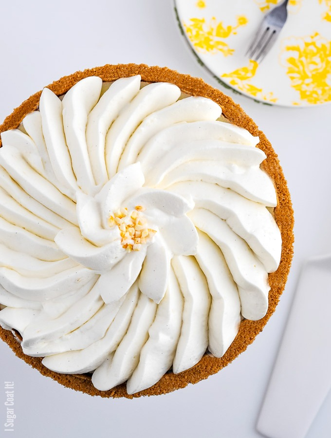 Yuzu Whipped Coconut Cream Tart