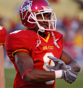 Euseph Messiah, Iowa State running back