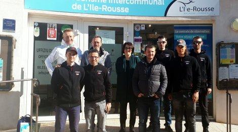 La Team Trek Vélo 101 en Balagne !