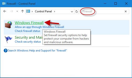 2 Ways to Turn on/off Windows Firewall in Windows 10 | iSumsoft