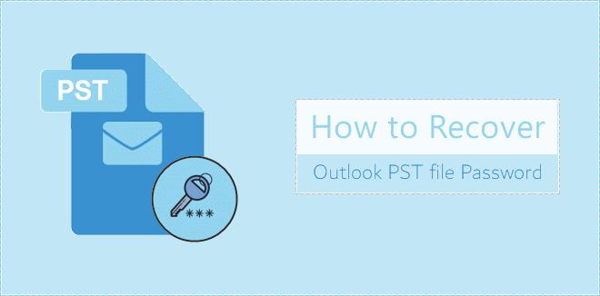 Recuperar la contraseña del archivo PST de Outlook