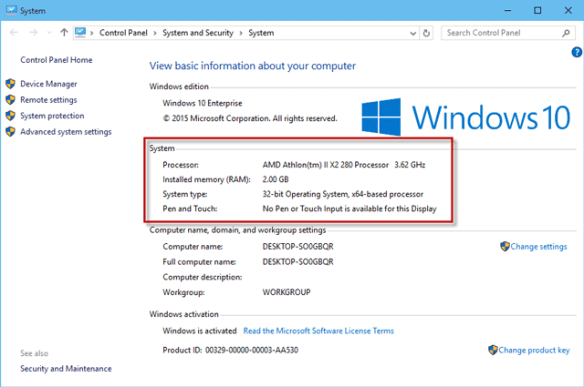 f31235d7e36f How to View Basic/Detailed System Information in Windows 10 | iSumsoft