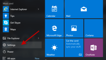 8 Ways to Go to the Settings App in Windows 10 | iSumsoft