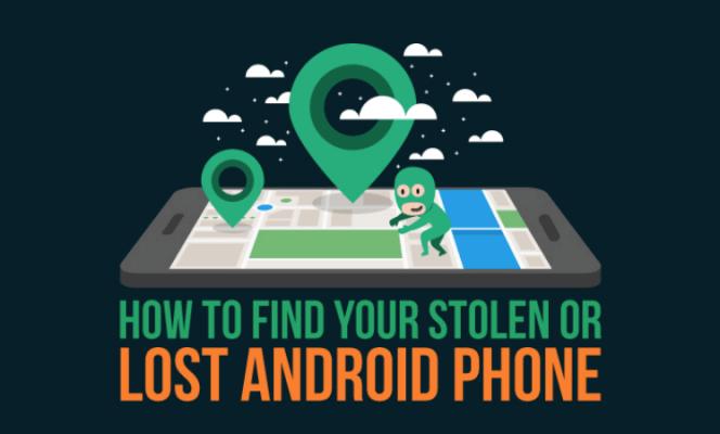 Encuentra un teléfono Android perdido