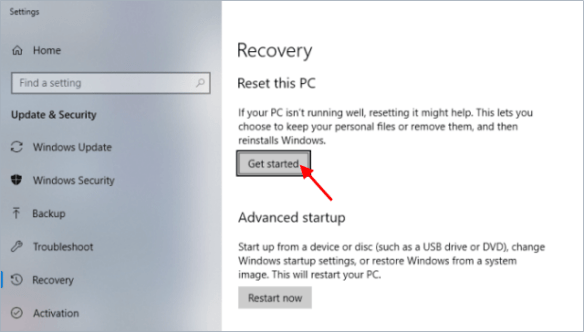 how to factory reset computer when locked out