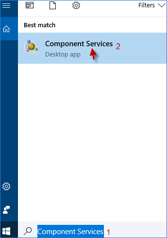 servicios de componentes de entrada