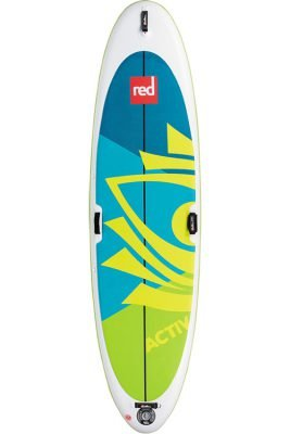 """red paddle 10'8"""" activ inflatable supboard"""