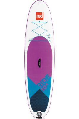 "red paddle 10'6"" ride se msl inflatable supboard"