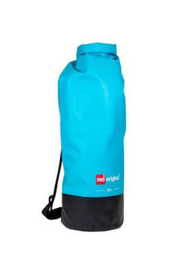 red paddle original dry bag 30 liter blauw