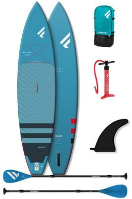 "fanatic ray air touring pure 12'6""x32"" starterspakket"