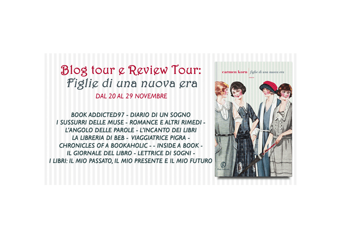 Blog Tour & Review Tour: Figlie di una nuova era di Carmen Korn