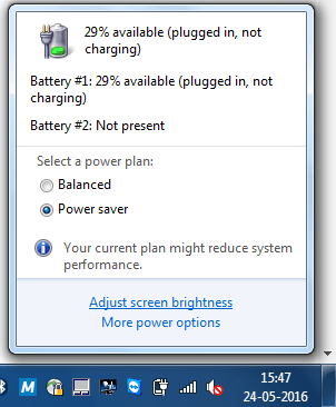 Batteriproblem: Plugged in, not charging