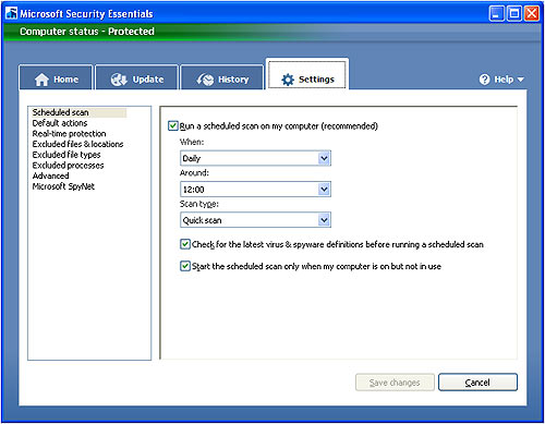 microsoft_security_essentials_settings_screen