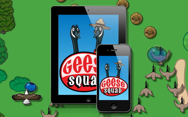 iT Guy Technologies has created a new exciting iOS game, Geese Squad