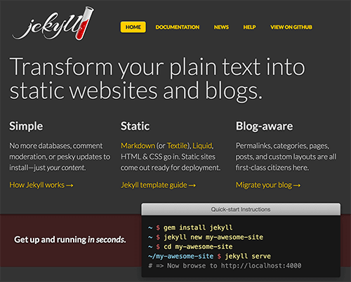 Why Static Website Generators Are The Next Big Thing