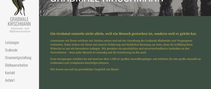 Grabmale Kirschmann