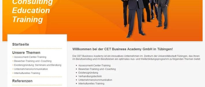 CET Business Academy