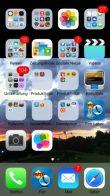 iOS 7 Beta 2 - schlechter Kontast bei dunklen Hintergrundbildern