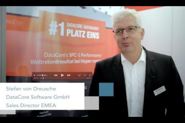 Stefan von Dreusche (DataCore) über die Storage-Appliance Lenovo DX8200D powered by DataCore
